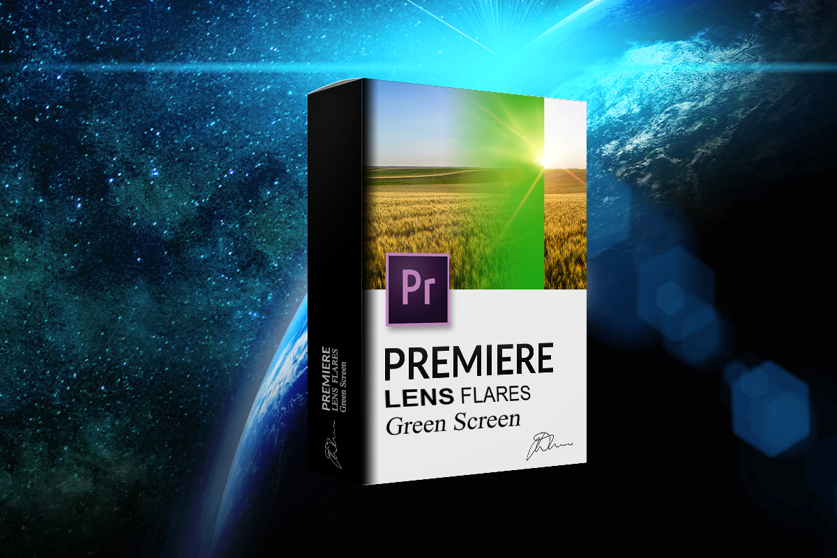Free Greenscreen Lens Flare and Sunburst Video Pack From Adobe Premiere
